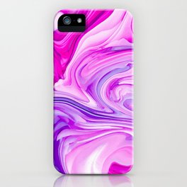 Marble Madness iPhone Case