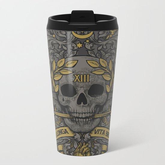 ARS LONGA VITA BREVIS Metal Travel Mug