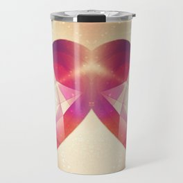 Tri-Color Jewish Star Of Protection Travel Mug