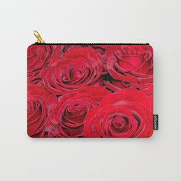 Bed of red roses- Photography pattern of red rose Carry-All Pouch