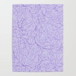 """William Morris """"Acanthus Scroll"""" 8. Poster"""