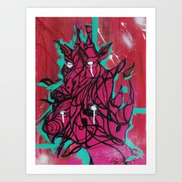 Animal Noise Art Print