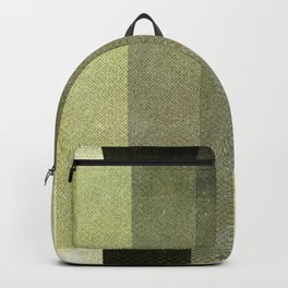 Green Abstract Pattern Backpack