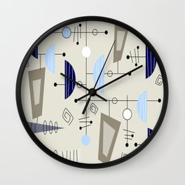 Mid-Century Modern Atomic Era Wall Clock