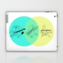 Keytar Platypus Venn Diagram Laptop & iPad Skin