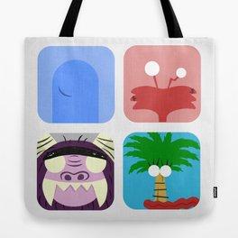 Imaginary Friends Tote Bag