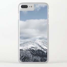 Winter Rundle Clear iPhone Case