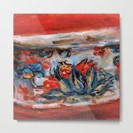 "Auguste Renoir ""La jardinière"" Metal Print"