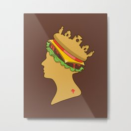 Burger Queen aka Royal With Cheese Metal Print