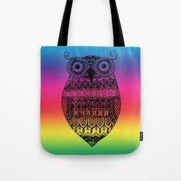 RainbOwl Tote Bag