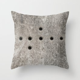 Block of Modern Life Throw Pillow
