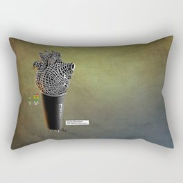 CRZN Dynamic Microphone - 003 Rectangular Pillow