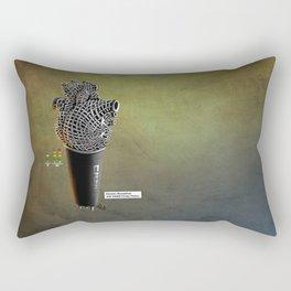 CRZN Dynamic Microphone - 003 Rectangular Pillow
