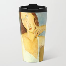 Amedeo Modigliani Jeanne Hébuterne Travel Mug