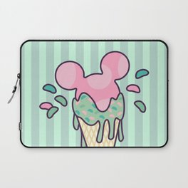 Mickey Icecream Splash Laptop Sleeve