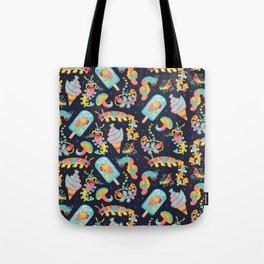 Jelly Polychaete worm - dark Tote Bag