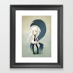 Fox Daemon Framed Art Print