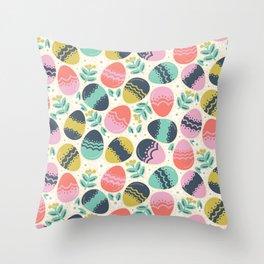 Easer Eggs Throw Pillow