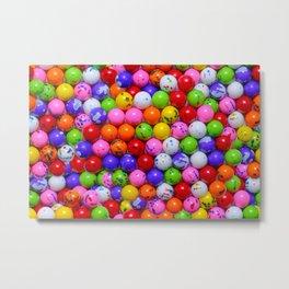Jawbreaker Real Candy Pattern Metal Print