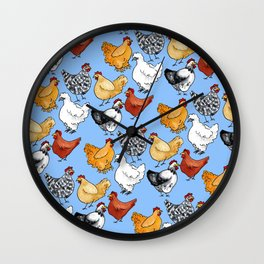 Chicken Skin Wall Clock