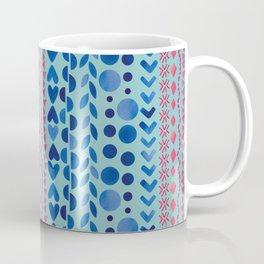 Watercolour Shapes - Magic Villa Coffee Mug