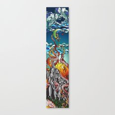 Kraken the Mountain Canvas Print