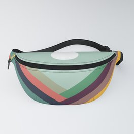 Rows of valleys Fanny Pack
