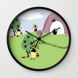 Off with Her Head! Wall Clock