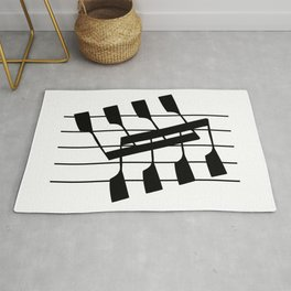 Rowing & Music Notes 8 Rug