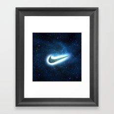 nike-galaxy Framed Art Print