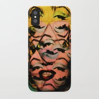 monroe iPhone & iPod Cases featuring Monroe by David