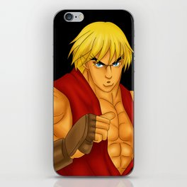 Ken Street Fighter iPhone Skin