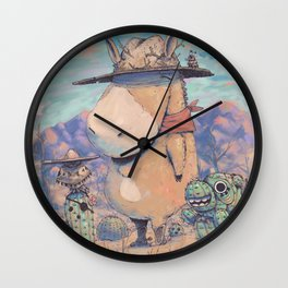 The West Wall Clock