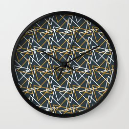 Lazer show Wall Clock