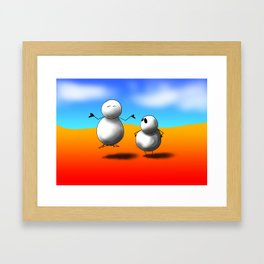Ah-Zen Framed Art Print