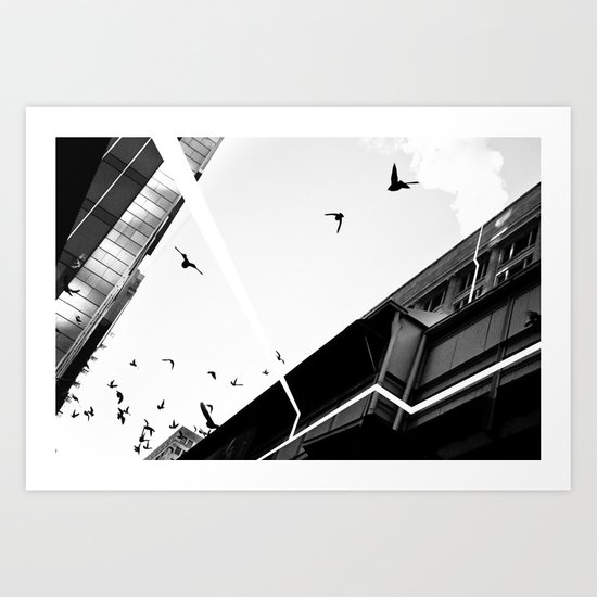 Transitions #6 Art Print