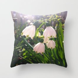 Snowbell Throw Pillow