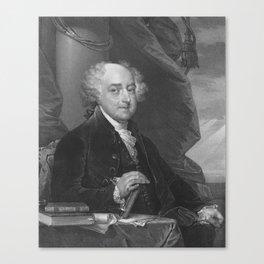 President John Adams Canvas Print