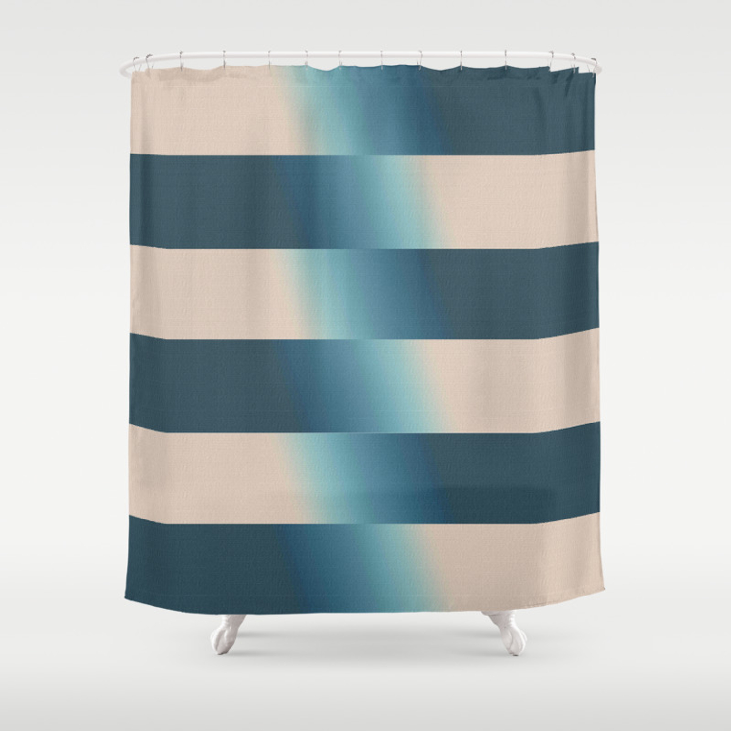 Home Goods Shower Curtains.Woven Gradients Contemporary Home Goods Shower Curtain