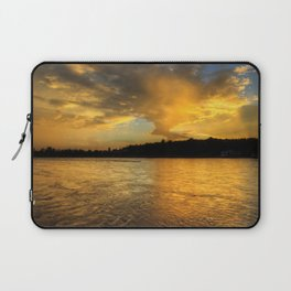 when the light turns to gold... Laptop Sleeve
