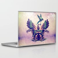 monster Laptop & iPad Skins featuring monster by Ali GULEC