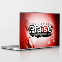 bible verses Laptop & iPad Skins featuring Bible Scripture by Azeez Olayinka Gloriousclick