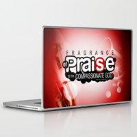 bible Laptop & iPad Skins featuring Bible Scripture by Azeez Olayinka Gloriousclick
