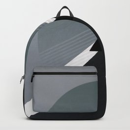 London - triangle/circle graphic Backpack