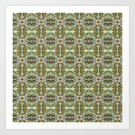 Coleus Leaves Pattern Art Print