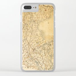 Map of Zhili and Shandong, China (c1855-1870) Clear iPhone Case