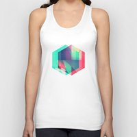 spires Tank Tops featuring hyx^gyn by Spires