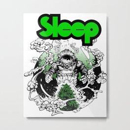 sleep band merch Metal Print