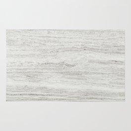 White Gray Marble Rug