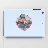 forrest gump iPad Cases featuring STUPID IS AS STUPID DOES (Forrest Gump) by COMME UNE AFFICHE AU MUR